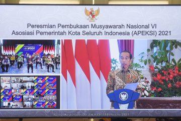 Jokowi Apresiasi Kinerja Wali Kota Seluruh Indonesia