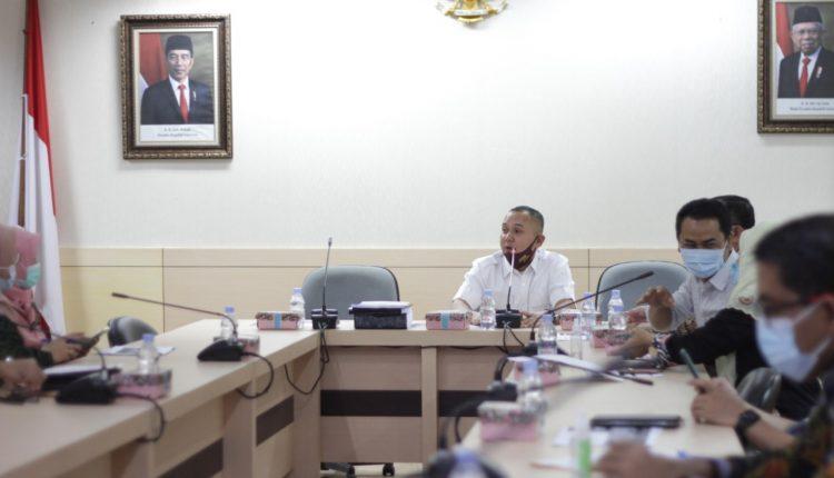 Rapat Dengan Dinkes, Komisi V DPRD Banten Bahas Program Kerja dan Covid-19