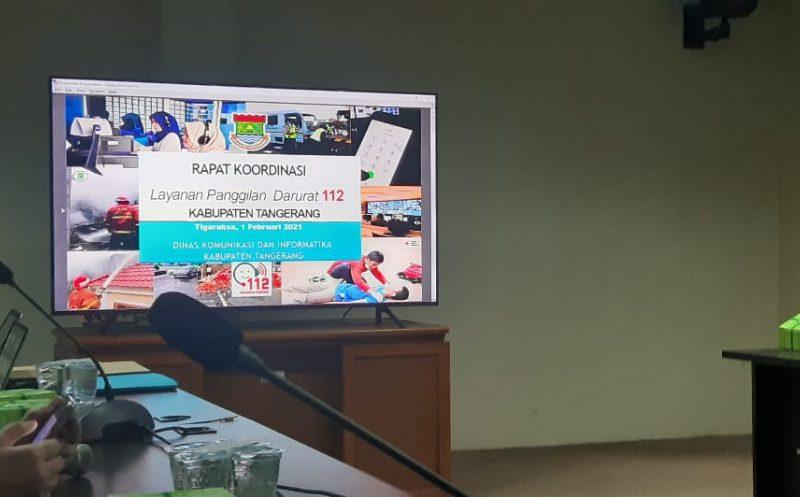 Pemkab Tangerang Gelar Rakor Pelatihan Panggilan Darurat 112