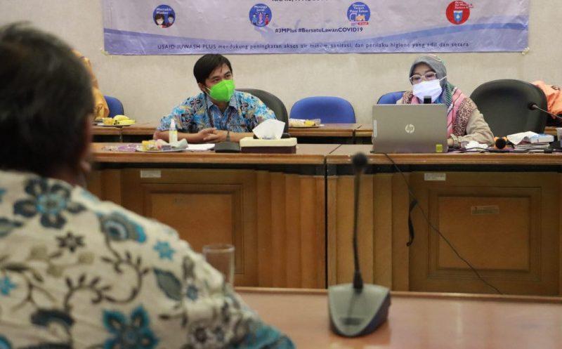 5 Tahun Berjalan, Bappeda Gelar Rakor Persiapan Jelang Closing Program IUWASH Plus