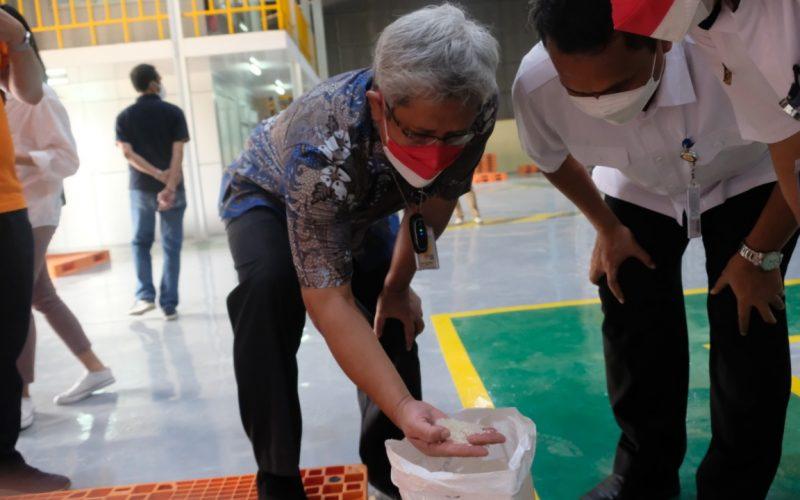 Bulog Cek Ketersediaan Beras PPKM di Banten
